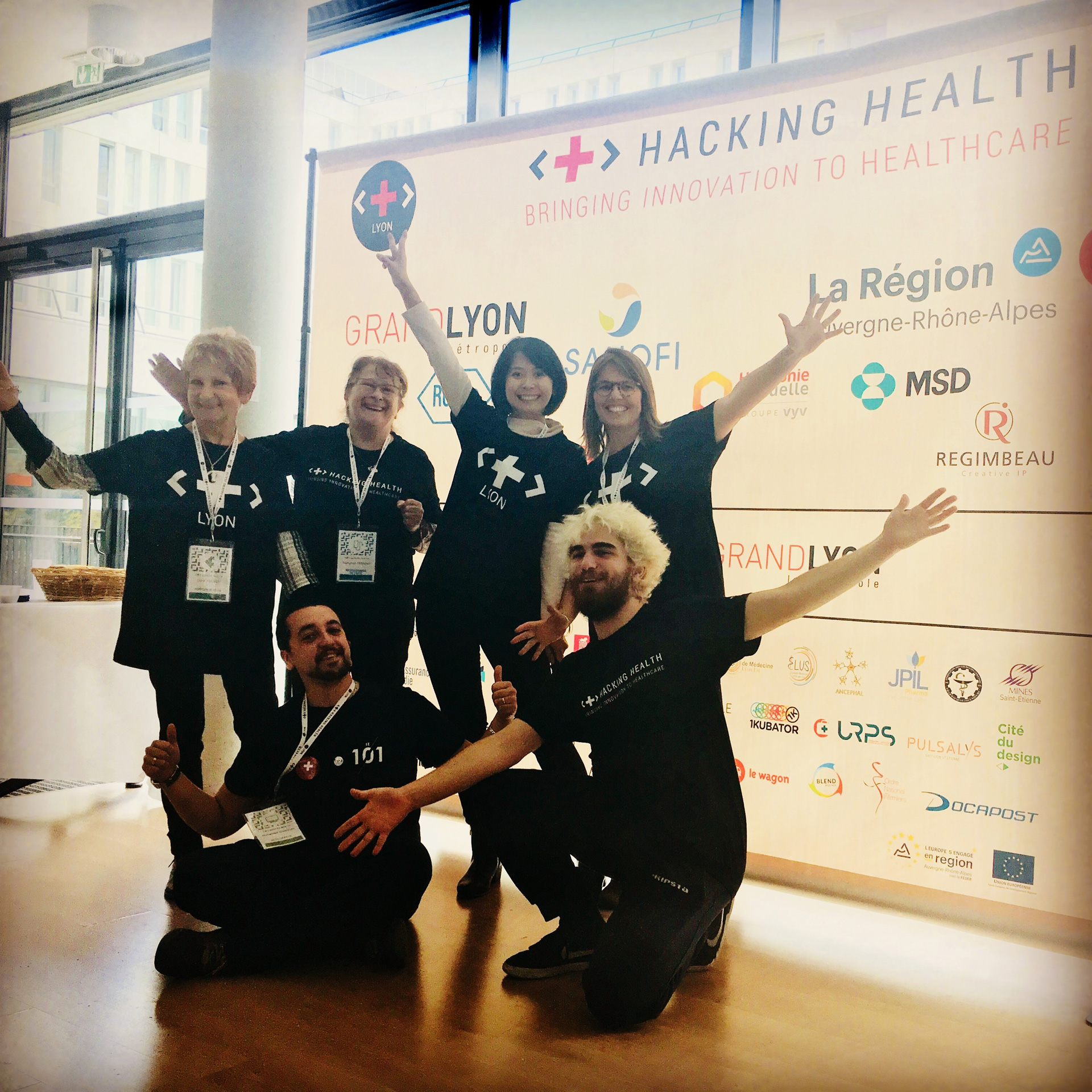 IAS du Lyonnais A participé au Hacking Health