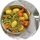 Régime d'épargne digestive légumes cuits